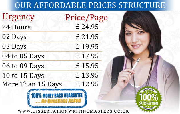 Prices at dissertation writing masters uk